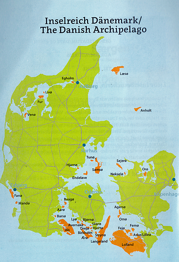 37 Danische Inseln Der Touristische Inselpass